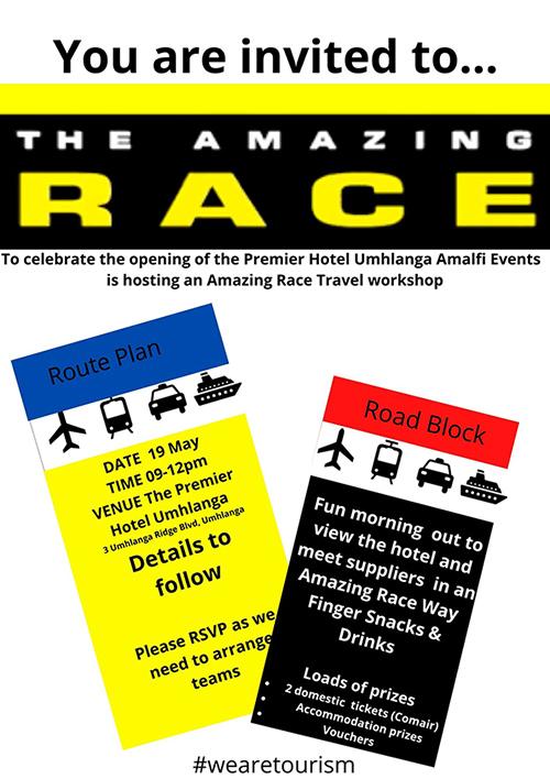 Amazing Race with Umhlanga Premier Hotel